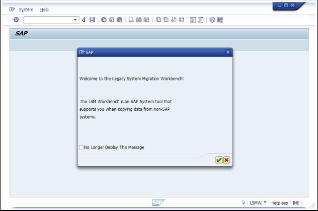 LSMW – tutorial (using Recording)   super SAP user